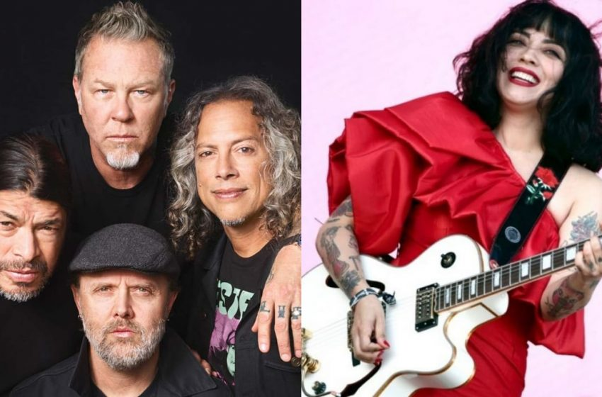"Mon Laferte se viste de metal: Cantará en disco homenaje al ""Black Album"" de Metallica"