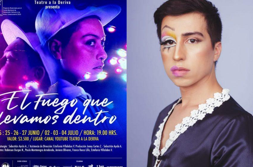 Sebastián Ayala estrena obra inspirada en el asesinato de la joven lesbiana Nicole Saavedra Bahamondes