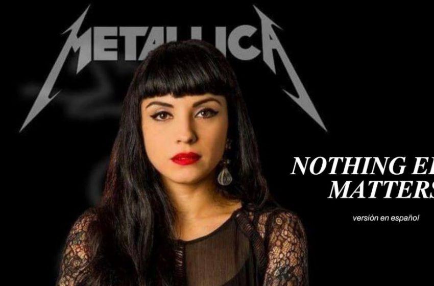 Mon Laferte deslumbra con folclórico y emotivo cover de 'Nothing Else Matters' de Metallica